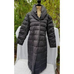 Espirit long puffer coat XL